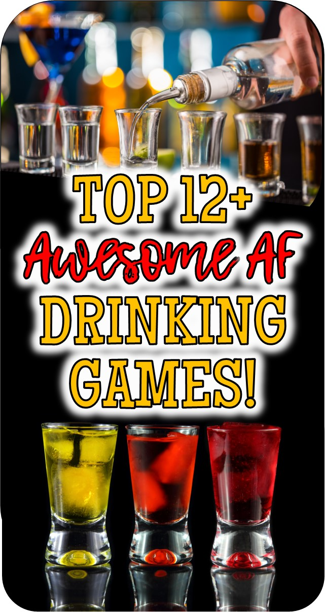 Fun games with alcohol