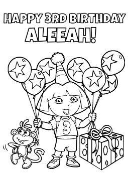 DIY Dora Birthday Party Games Unique original and FUN
