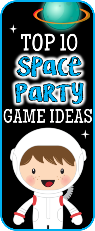 Outer Space Games for your Child's Birthday Party!