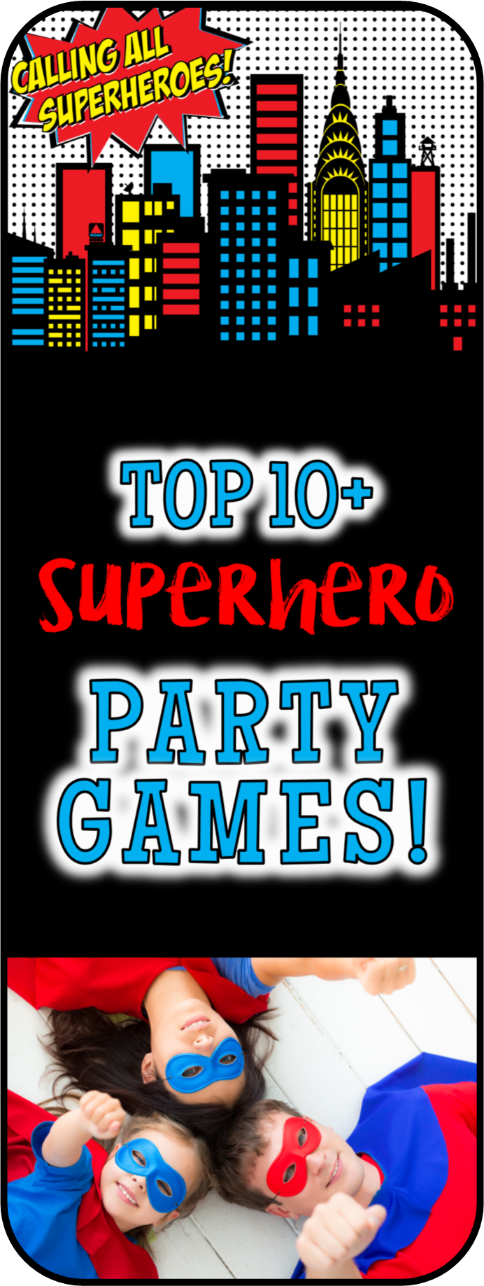AVENGERS THEMED PARTY GAMES