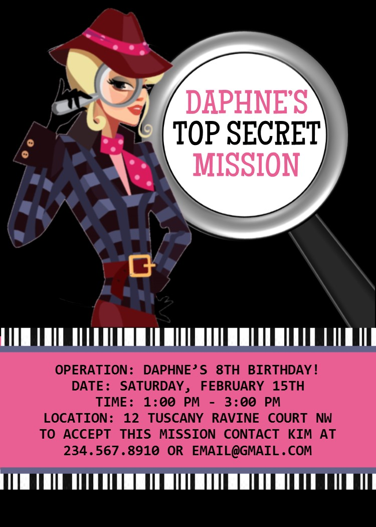 Spy party games secret agent birthday theme leave spy party games filmwisefo