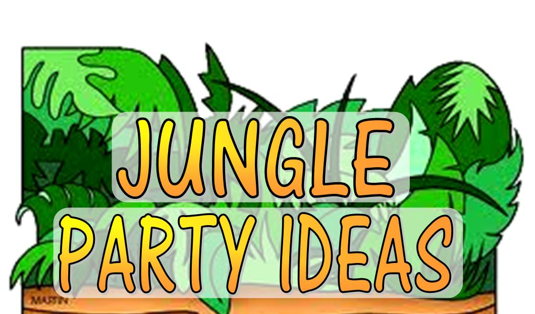 Jungle theme party games activities for Animal decoration games