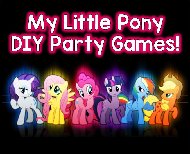 Favorite My Little Pony Party Game