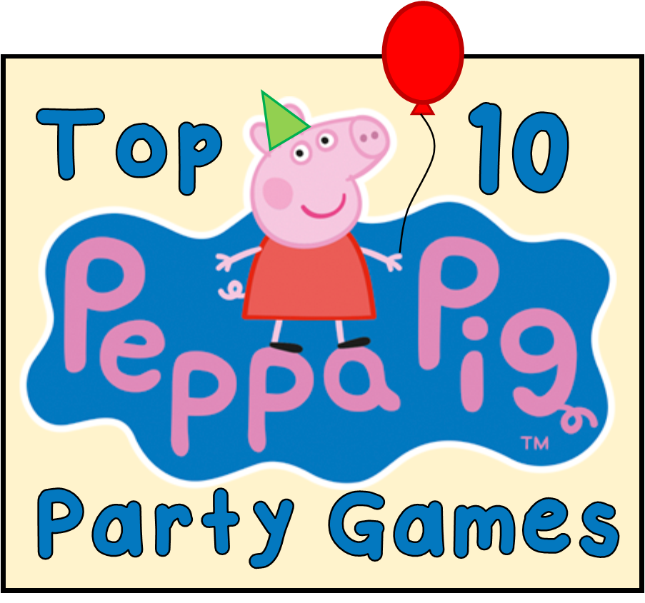 Top 10 Peppa Pig Party Games!