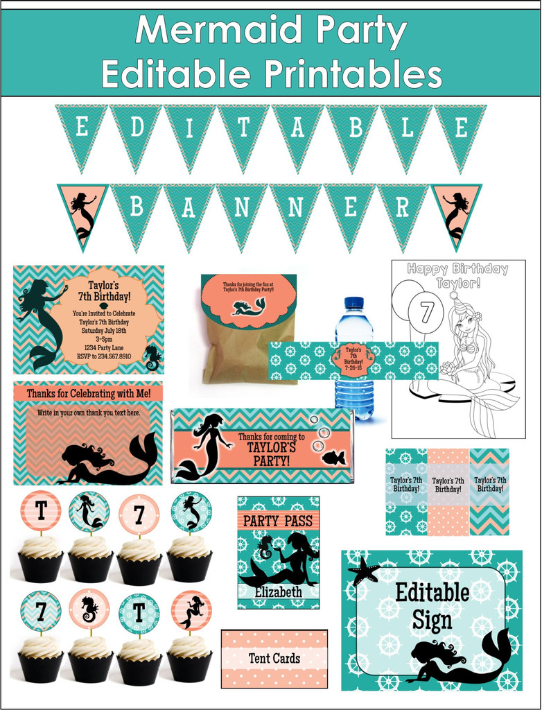 Little Mermaid Games for Birthday Parties