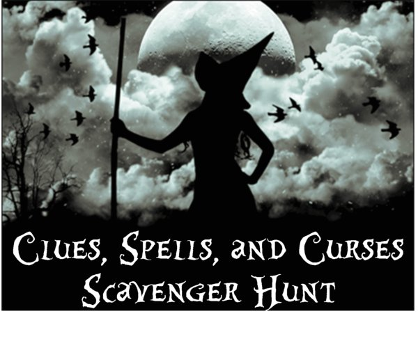 The Halloween Scavenger Hunt Clues Spells And Curses Is A Unique Party Game That Goes Beyond Your Typical This
