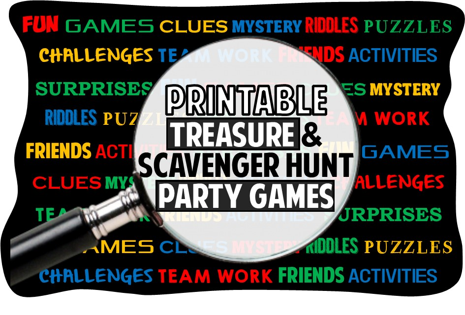 Printable Treasure Hunt Riddles Clues And Games