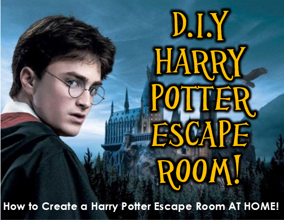 Diy Harry Potter Escape Room Ideas Printables
