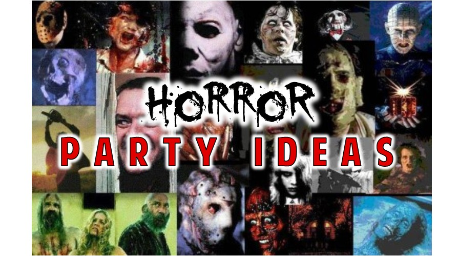 horror party ideas games
