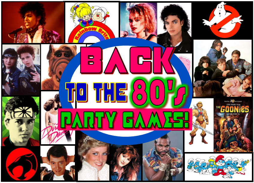 totally awesome 80 s theme party ideas and 80 s party ideas for games