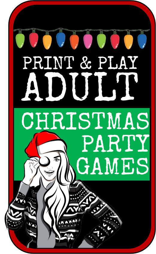 Adult Christmas Party Games, Ideas, and