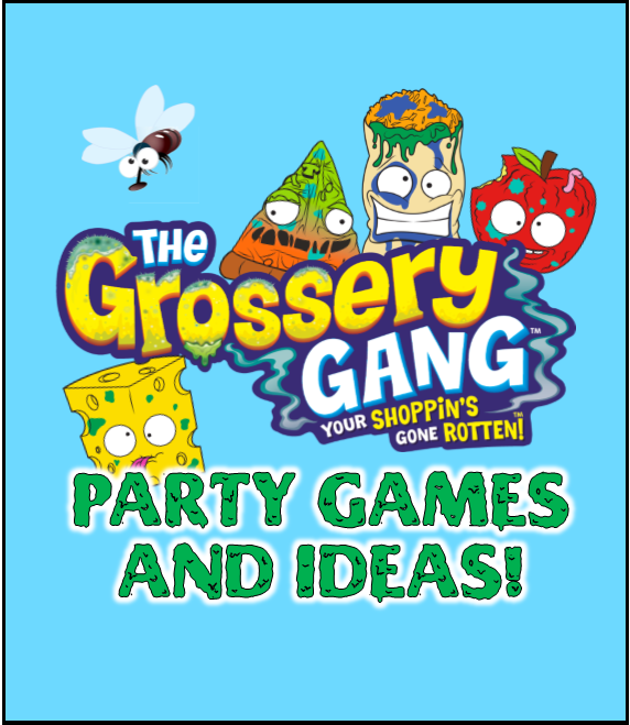 Totally Gross Party Games, Printables, and Party Supplies