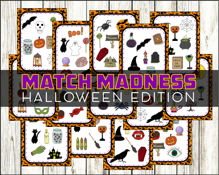 halloween match madness game is a fantastic haloween themed card game for ages 4 94 whether you are looking for a game to play with your family
