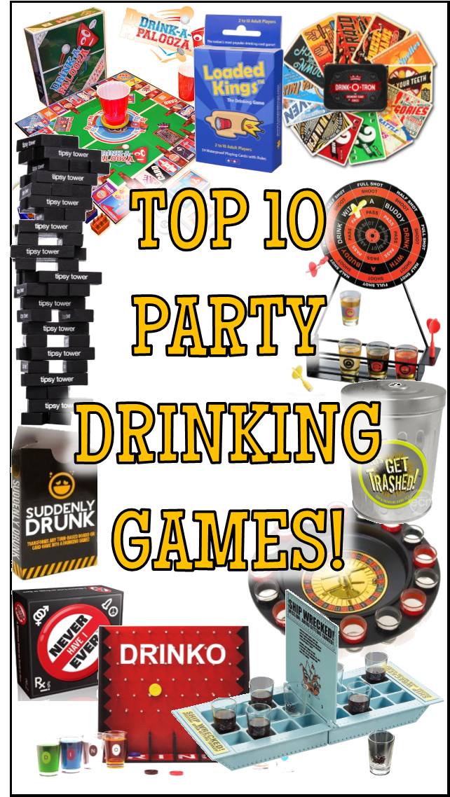 Top 12 Fun Drinking Games For Parties