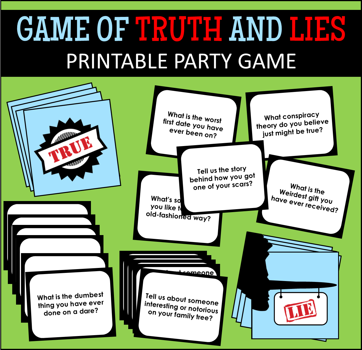 Printable Party Games For Adults