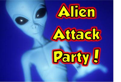 Alien Attack Party Fun