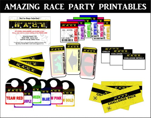 Share Your Amazing Race Party Pit Stop Ideas!
