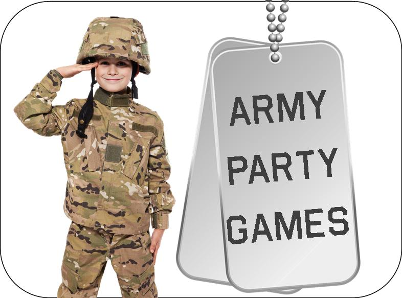 American Heroes Camo Military Camouflage Birthday Party Favor Memory Match Game