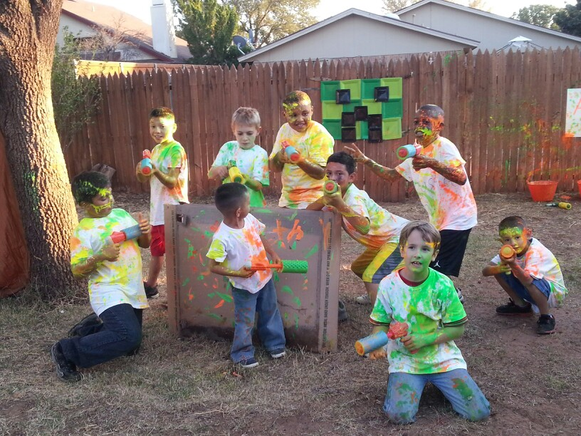 Paint Party Ideas, Games, and Party Supplies