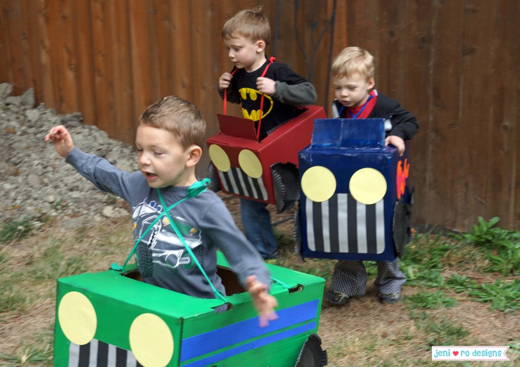 10 Ideas About Cardboard Box Cars On Pinterest: Top 10 Monster Truck Party Games