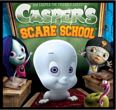 casper scare school - Halloween Fear Factor Games