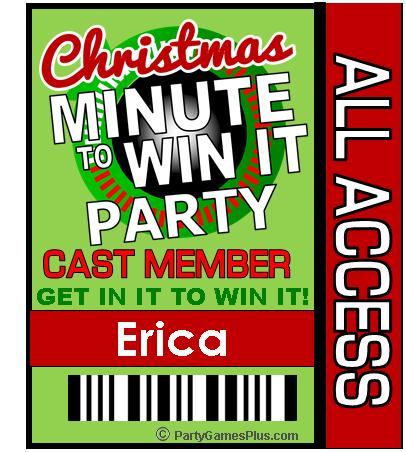 Minute To Win It Christmas.Christmas Minute To Win It Party Supplies And Ideas
