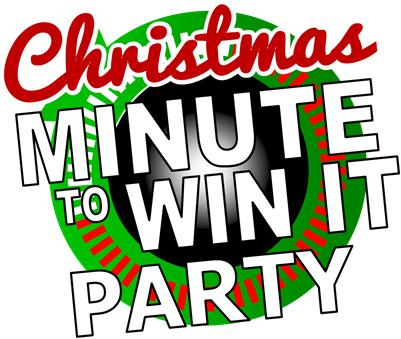 These printables make throwing a Christmas Minute to Win It theme party almost too easy!