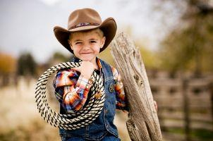 cowboy carnival party theme for little boys