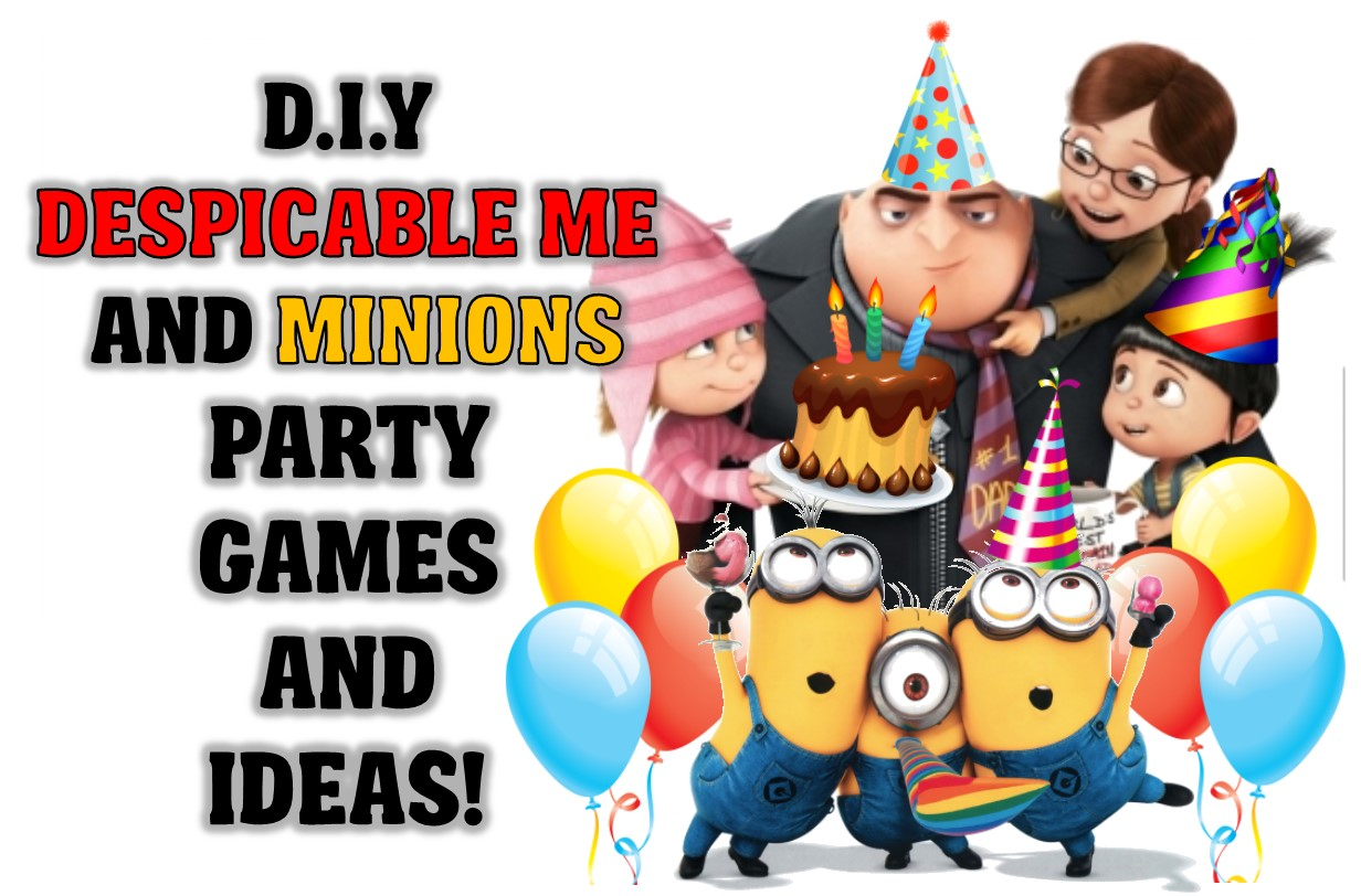 funtastic diy minion party game ideas