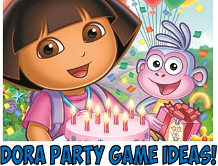 DIY Dora Birthday Party Games Unique original and FUN