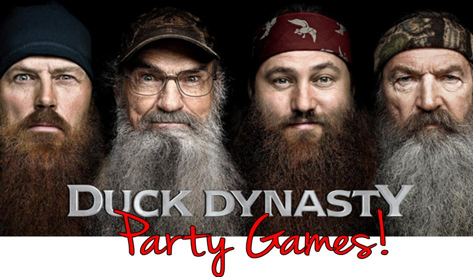 DUCK DYNASTY PARTY GAMES