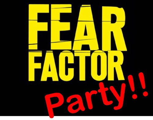 top 10 fear factor birthday party games - Halloween Fear Factor Games