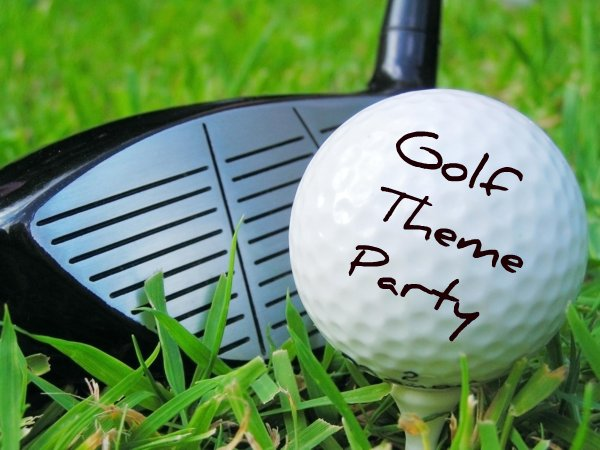 Golf Themed Party Decorating Ideas from www.queen-of-theme-party-games.com