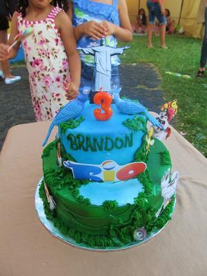 Kids Rio Theme Party