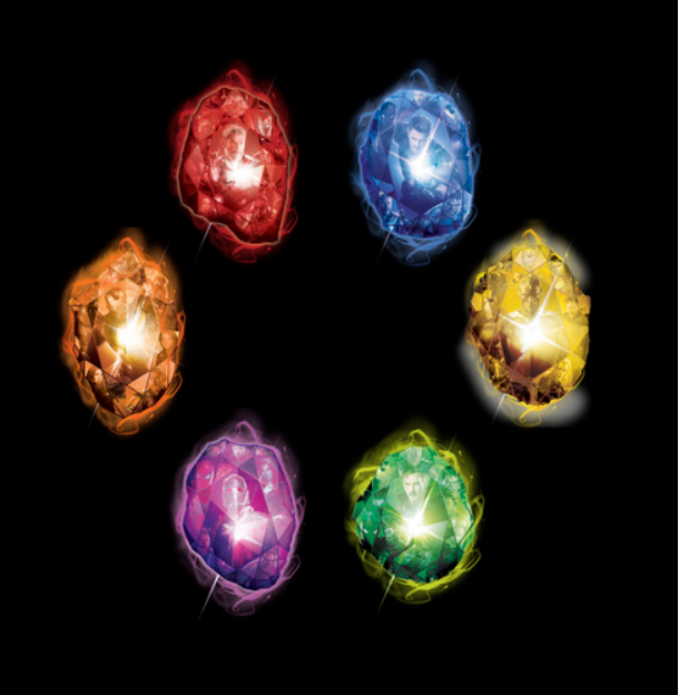 Create Your Own Infinity Stones By Spray Painting Rocks Crumbling Construction Paper Or Using Plastic Easter Eggs That Are The Right Colors