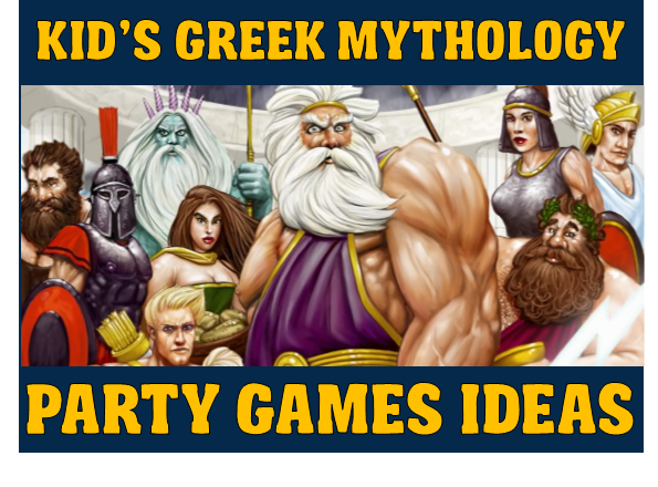Awesome Greek Mythology Party Games For Kids And Tweens