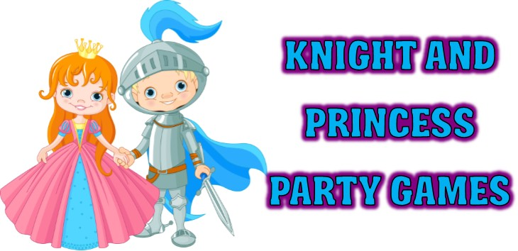 Knight And Princess Party Games