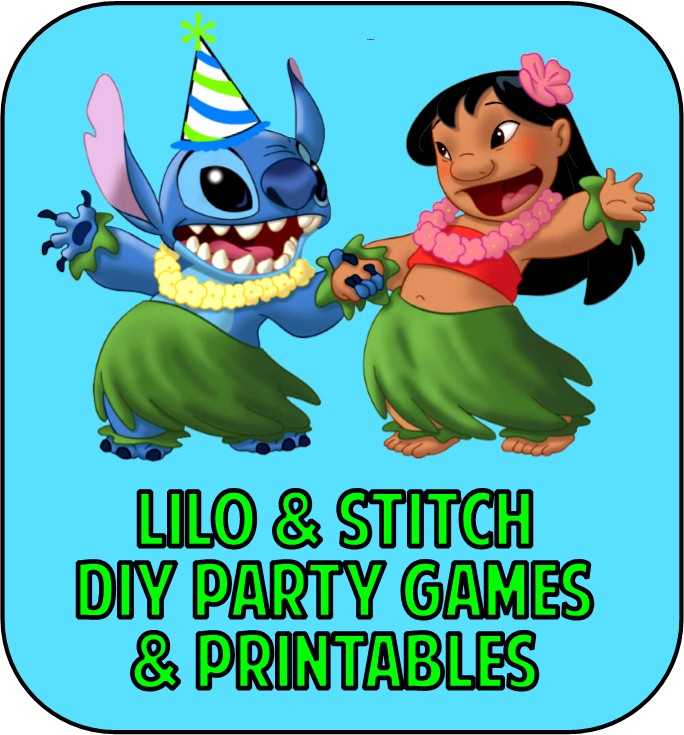 Lilo And Stitch Party Games Printable Party Supplies
