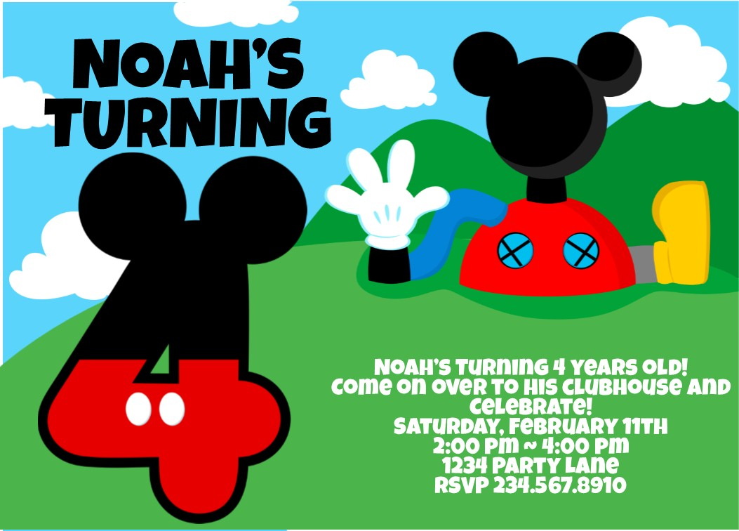 Leave Mickey Mouse Birthday Party Ideas For Games See More Kid Themes