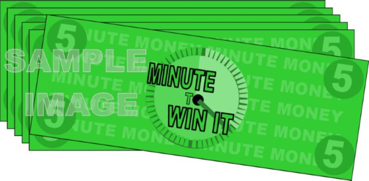 picture about Minute to Win It Blueprints Printable named Instant toward Earn It Social gathering Online games, Plans, and Elements