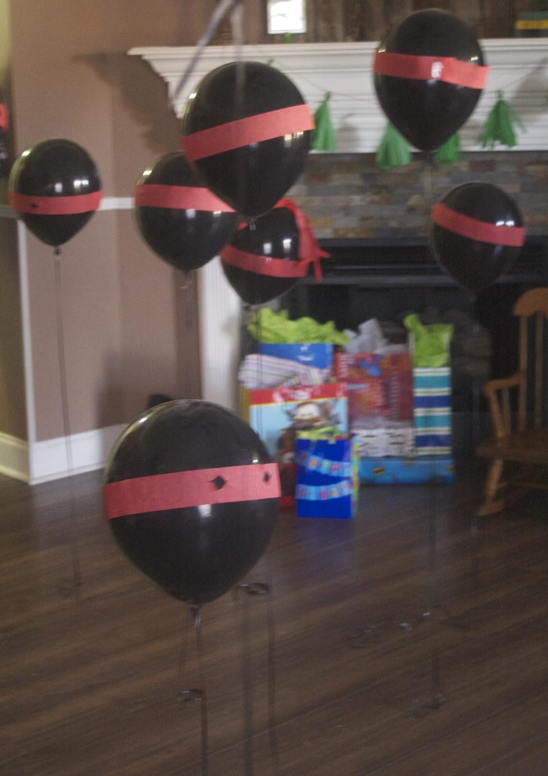 DIY Ninja Party Games for your little ninja's Birthday!