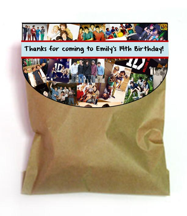 Gallery For gt One Direction Party Bags