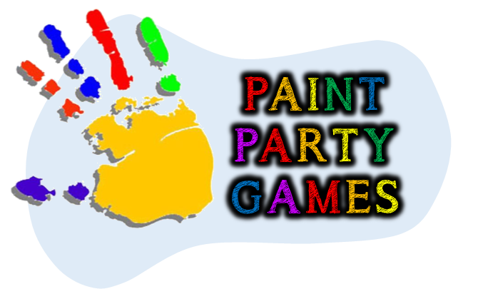 Art Paint Party Games Printables