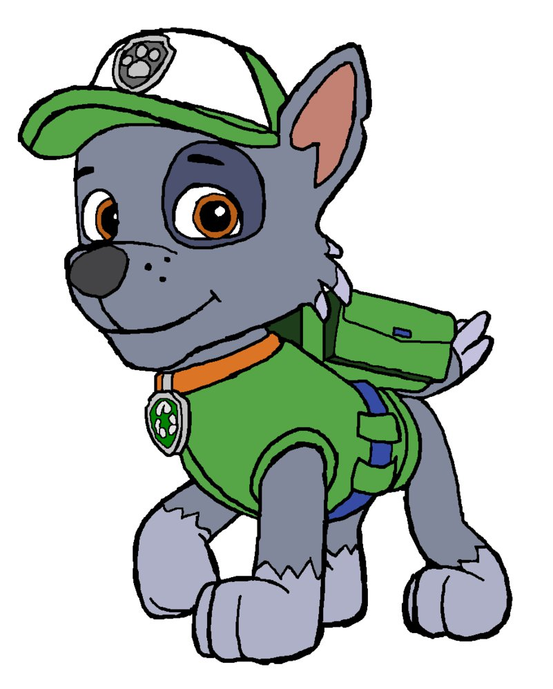 Free Paw Patrol Halloween Coloring Pages