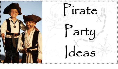 pirate party ideas for decorations and supplies