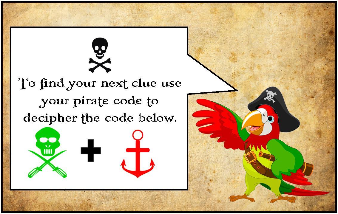 Printable Pirate Party Treasure Hunt