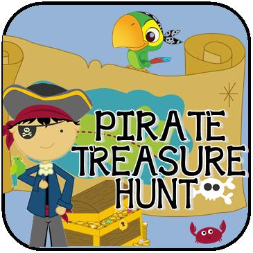 rhyming instructions for a pirate treasure