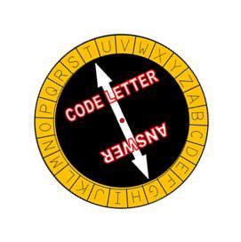 image relating to Printable Decoder Wheel identify Printable Spy Treasure Hunt!