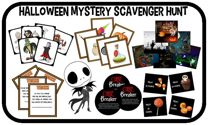 photograph relating to Printable Halloween Games Adults titled Printable Halloween Scavenger Hunt Key Match!