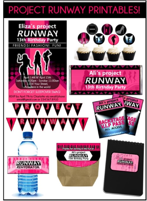 Project Runway Party Ideas For Throwing An Awesome Fashion Party